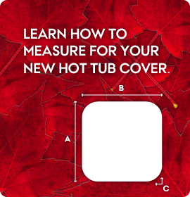 How to measure for a replacement hot tub cover