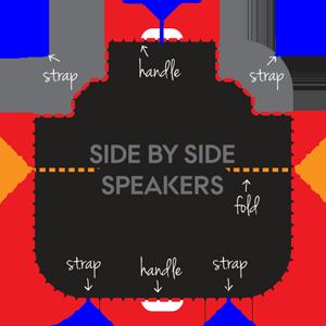 side speaker hot tub covers