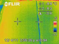 infrared heat savings with hinge seal upgrade