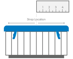 hot tub cover standard strap location